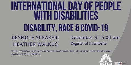 International Day of People with Disabilities tickets