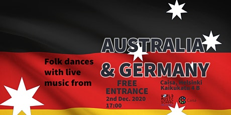 Folk Dances with Live Music: Australia & Germany tickets