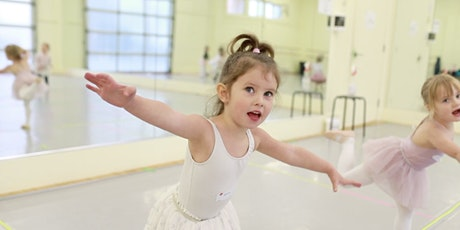 pink petal ballet 2/3yrs (+ grown-up) / mondays jan 11-mar 15 / 10-10:30am tickets