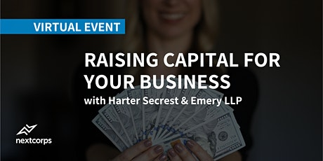 Raising Capital for Your Business tickets