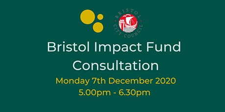 Bristol Impact Fund Consultation tickets