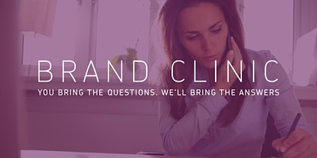 Brand Clinic tickets