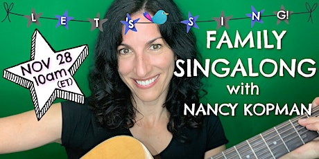 Family Music With Nancy! tickets
