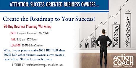 """Build Your 2021 Business Action Plan"" Online Workshop tickets"
