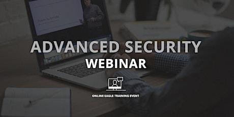 Advanced Security Webinar tickets