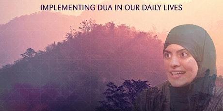 The Power of Dua with Shaykha Maryam Amir (USA): FREE Seminar! tickets