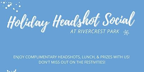 Holiday Headshot Social tickets