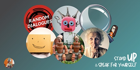 Stand UP and Speak For Yourself with Random Dialogues, November Event  #13 tickets