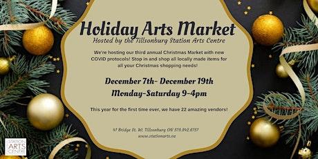 Holiday Arts Market - Saturday tickets