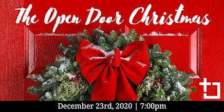 The Open Door Christmas: December 23rd, 2020 tickets