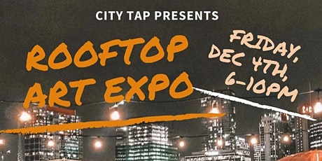 Rooftop Art Expo at City Tap House tickets