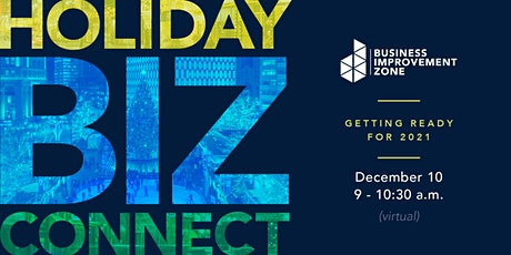Holiday BIZ Connect: Getting Ready for 2021 tickets