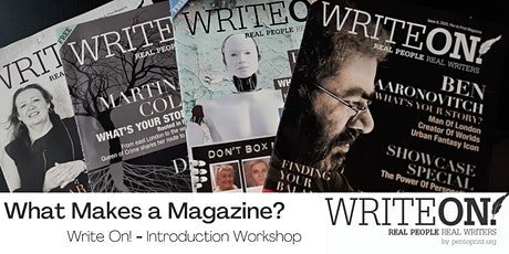 Pen to Print: An Introduction to Write On! - What Makes a Magazine? tickets