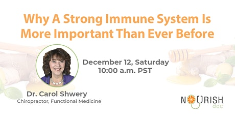 Why a Strong Immune System is More Important Than ever Before tickets