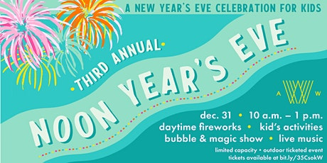 Noon Years Eve Celebration for Kids at Armature Works tickets