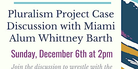 """""""Creative Encounters: Living Religions in America"""" - A Case Discussion tickets"""
