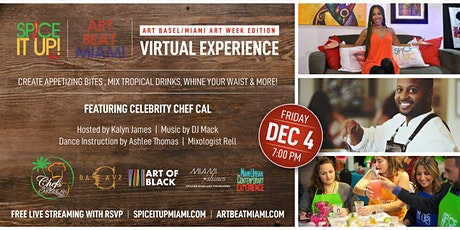 ART BEAT MIAMI Spice It Up! Miami (Art Basel edition)2020 tickets