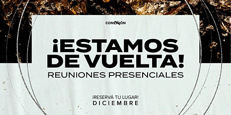 Reunión Presencial - Domingo 6/12 -  15:30 A 16:30 tickets