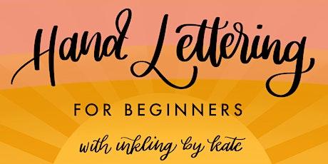 Virtual Hand Lettering Workshop - Beginner Friendly! biglietti