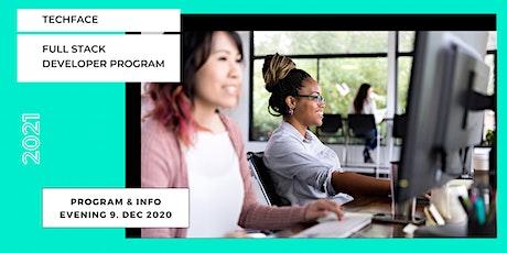 Full Stack Developer Program - Information Evening (online) tickets