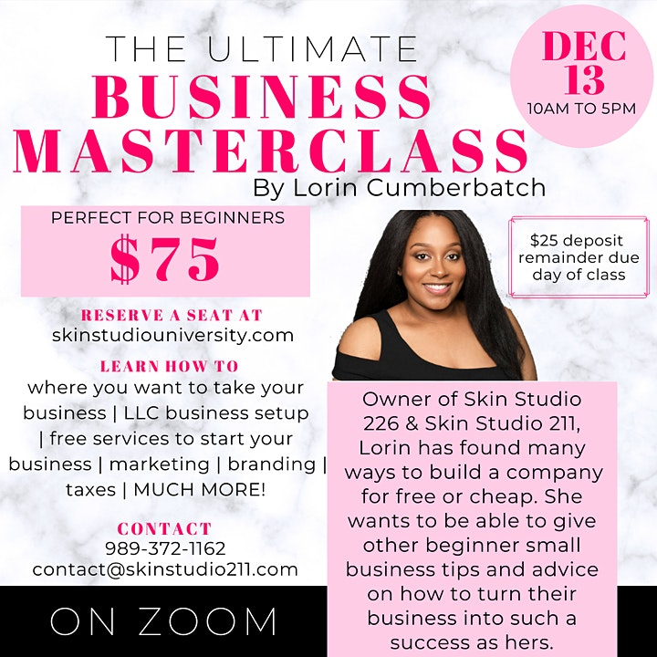 The Ultimate Business Masterclass Virtual image