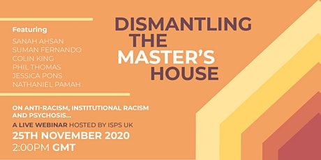 Dismantling the master's house: Becoming anti-racist tickets