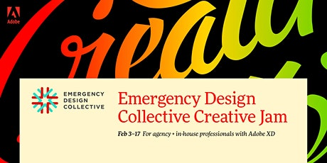 Professional + Emergency Design Collective Creative Jam LIVE with Adobe XD