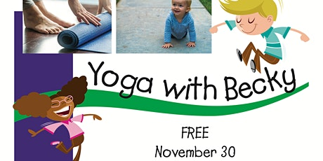 Yoga with Becky tickets