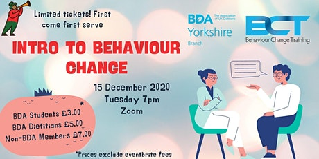 Behaviour change training tickets