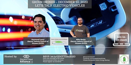 Virtual Green Drinks December - Let's Talk Electric Vehicles tickets