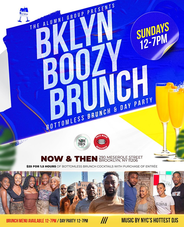 Brooklyn Boozy Brunch - Bottomless Brunch & Day Party image