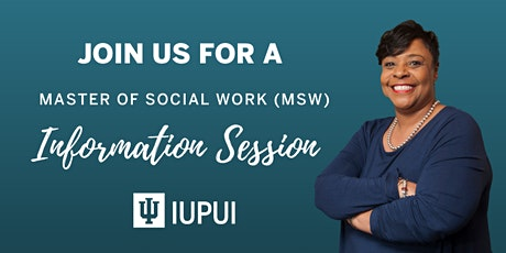 Indiana University IUPUI - MSW Virtual Information Session tickets