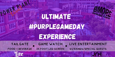 Ultimate Purple Game Day Experience 1/3 Cincinnati tickets