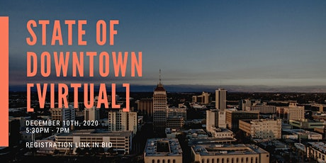State of Downtown 2020 [VIRTUAL] tickets