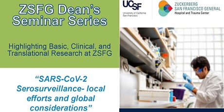 SARS-CoV-2 Serosurveillance – local efforts and global considerations tickets
