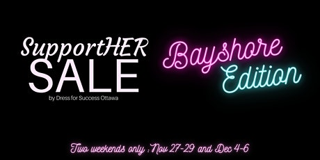 SupportHER Sale - Bayshore Edition tickets