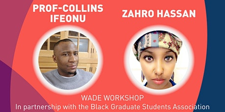 Allyship and Working Against Anti-Black Racism - Wade Workshop tickets