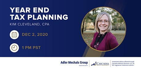 Kim Cleveland CPA – Year End Tax Planning tickets