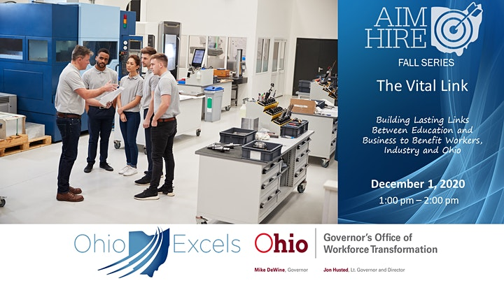 Aim Hire: Workforce and Education Symposium and Fall Series image