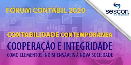 Fórum Contábil 2020 ingressos