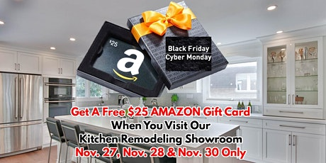BLACK FRIDAY CYBER MONDAY EVENT - THE GREAT FREE AMAZON GIFT CARD GIVEAWAY! tickets