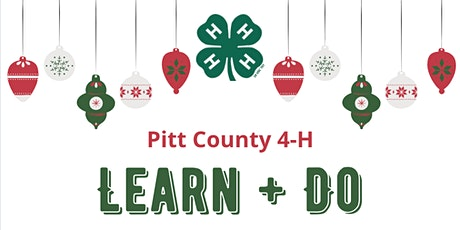 Pitt County 4-H: Learn   Do Holiday Craft Box tickets