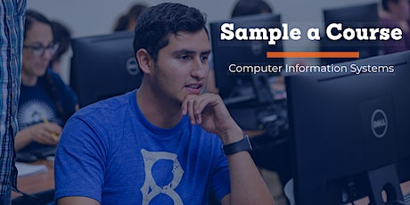 Computer Information Systems Sample a Course tickets
