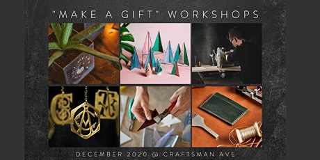 DIY Holiday: Make a Gift at Craftsman Ave tickets