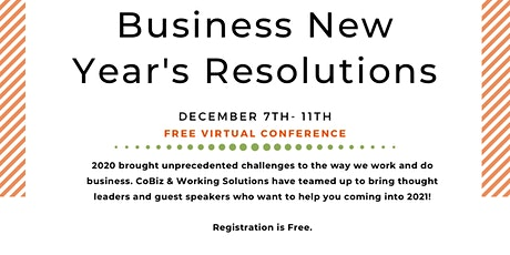 Business New Year's Resolution Week tickets