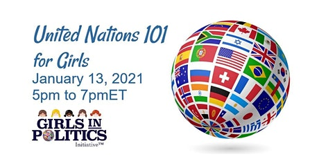 United Nations for Girls 101 Webinar tickets