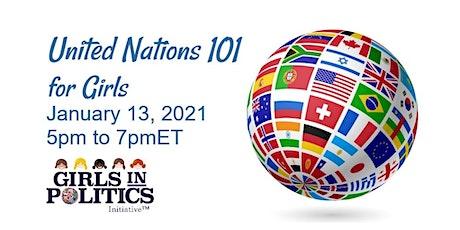 United Nations for Girls 101 Webinar