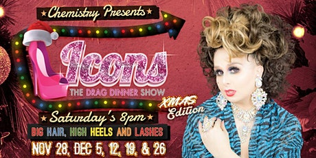 Icons Drag Dinner (Christmas Edition) tickets