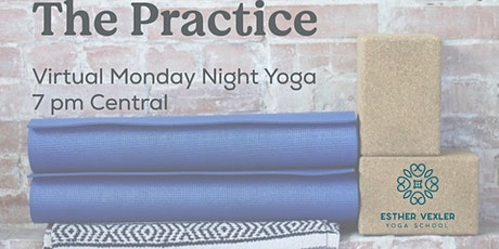 The Practice - Donation based weekly yoga class tickets