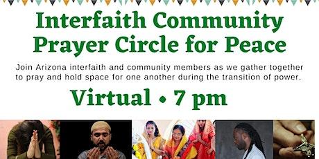 Interfaith Community Prayer Circle for Peace tickets